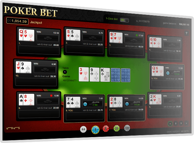 Poker Bet Screenshot